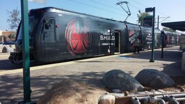 SDCC SHIELD Train