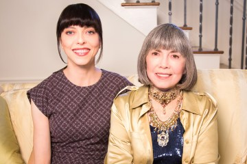 Juliet Landau and Anne Rice 2015
