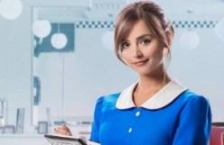 Doctor Who Clara waitress