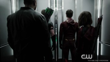 "The Flash/Arrow Crossover- ""Legends of Today/Yesterday"