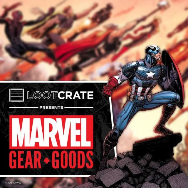 LootCrate Marvel
