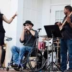 Paraplegic Frank Barham Uses His Music to Support Whirlwind Wheelchair