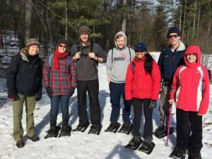 get-active-snowshoeing