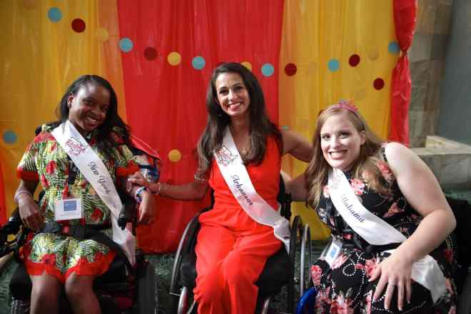 Ms. Wheelchair state titleholders