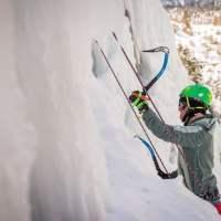 adaptive ice climber