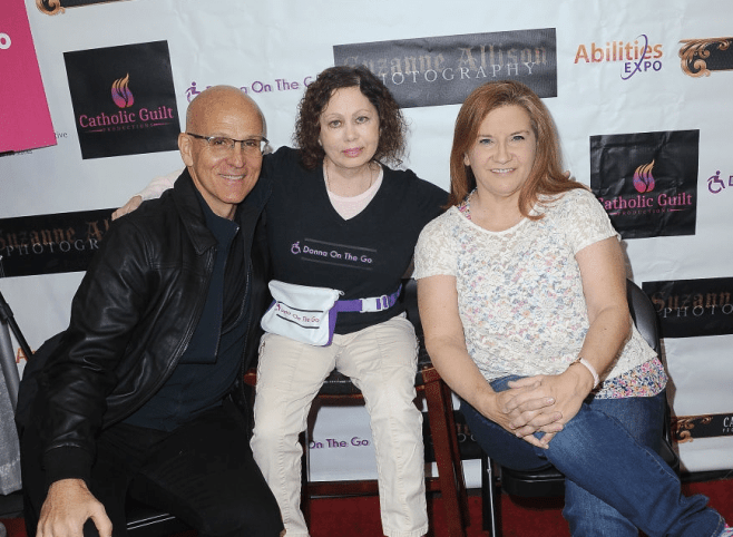 Actor Ray Proscia, Donna Russo, and Peggy Lane