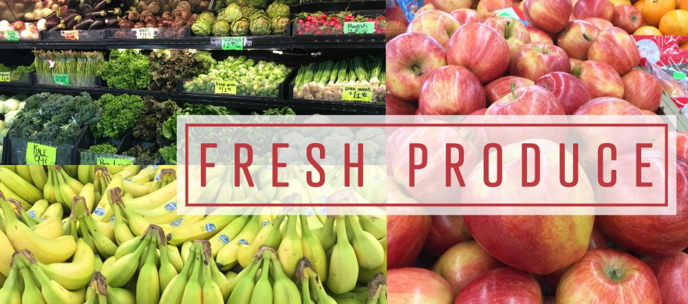 Fresh Produce Never looked so good…