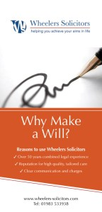 Why Make a Will