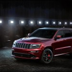 The Jeep Srt Night With Custom Wheels Is Stealthy Good
