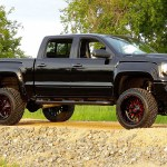 Off Road In Style With This Gmc Sierra 1500 With Fuel Wheels