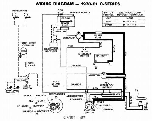 wheel horse wiring schematic  golf mk1 fuse box layout