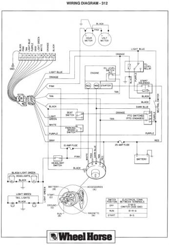 toro wheel horse 312 wiring diagram  honeywell thermostat
