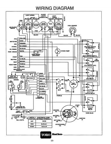 toro wheel horse 520h wiring diagram wiring diagram wheel horse wire diagram escap e wiring 2002