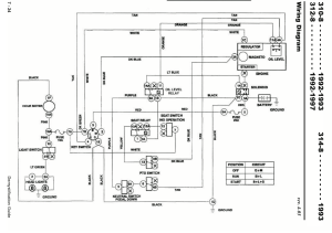 3128 wiring model 73362 SN# 5900429  Wheel Horse