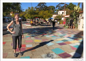 In the artists colony at Balboa Park
