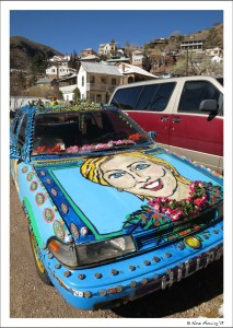 The Hilary Car...only in Bisbee!