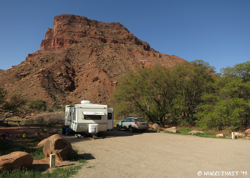 BLM Campground Review – Big Bend BLM, Moab, UT – Wheeling It