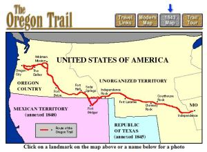 The 1843 Oregon Trail