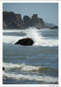 At the beach in Bandon