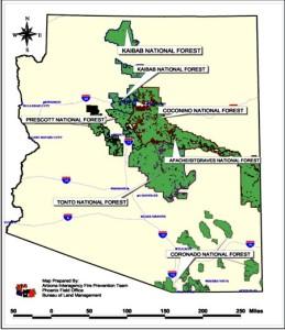 Arizona National Forest land