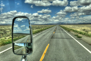 A brilliant day north on secluded Hwy 395