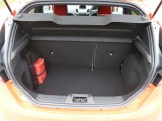 The boot is deep, wide and reasonably long from front to back; the rear seats split/fold on a two thirds:one third basis. One minus point is the high load sill, over which luggage has to be lifted.