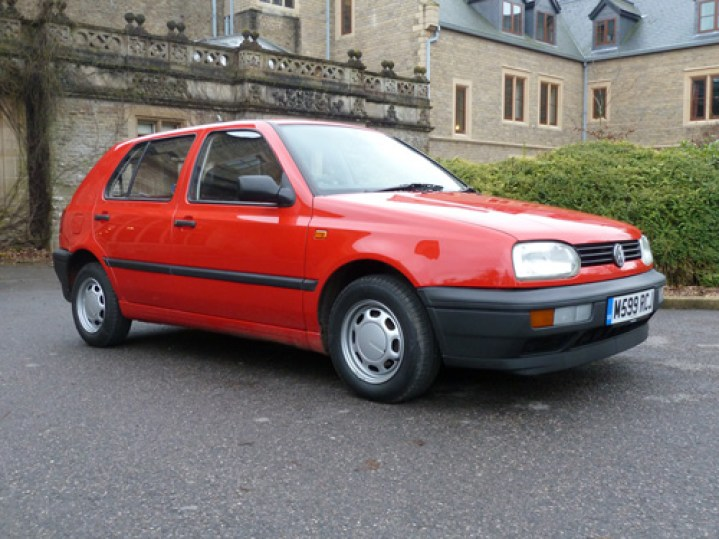 From the front the Ecomatic looks like any other third generation Golf, but this model was years ahead of its time.