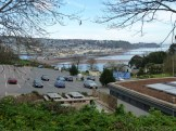 From the Homeyards Botanical Gardens there are views across the estuary towards Teignmouth, and very close to where this photograph was taken is the Shaldon Zoo, home of the animal-conservation-minded Shaldon Wildlife Trust.