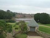 A view across the Beaulieu River, from an upstairs window in Palace House.