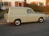 Most Anglia vans were worked to death, so survivors today are rare and much sought-after. Highly practical three door estates were produced too.