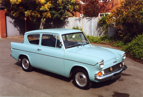 Still looking fresh and smart today, the Anglia was much revered when first launched, and represented a new start in terms of small Fords.