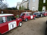 Mini Coopers used to be the model of choice for racing and rallying in the early 1960s; this lovely line-up was spotted at Goodwood's 2013 press preview day.