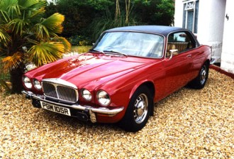 The two door coupé versions of both the Jaguar and Daimler have an even sleeker appearance than the saloons. They are comparatively rare and increasingly sought-after.