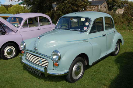 Saloon versions were offered in two door form, or as a four door model like this. The four door saloons are less commonly encountered.