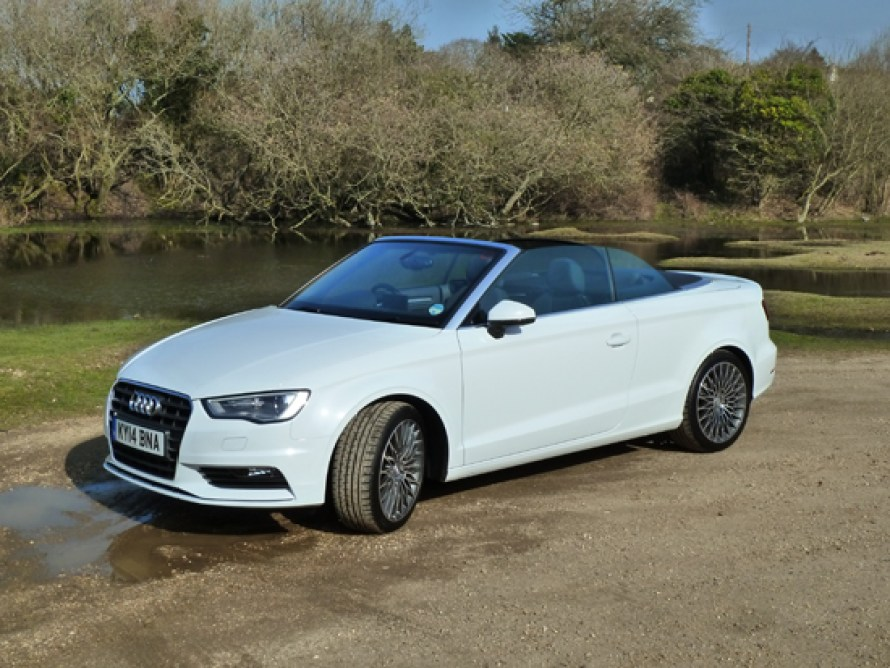 Neat, understated styling is a hallmark of the new Audi A3 Cabriolet.