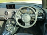 Neat, unostentatious functional dash design comes as standard.