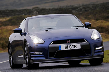 Special personalised number plates have been popular in recent years, as illustrated by this Nissan GTR. Within the pages of Dave Moss's excellent volume, there's much information on the history and variety of plates used over the years.