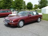 Fancy a modern classic Jaguar? This was one of several for sale at the Spring Autojumble.