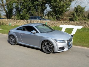 W-A AUDI TTS COUPE KH HEADING SHOT:1