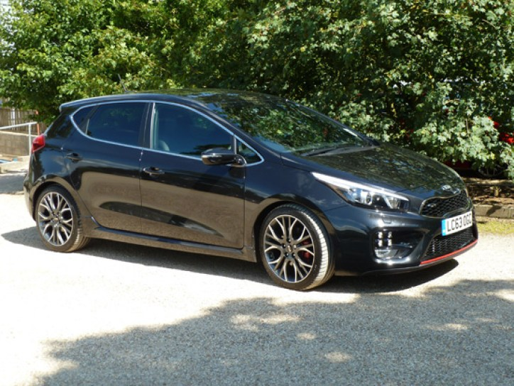 Sporty in looks and nature, the five door cee'd GT is exhilarating to drive yet practical for family transport too.