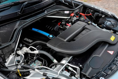 BMW X5 PHEV integrated 2.0-litre petrol engine and electric motor