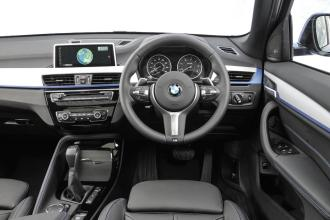 BMW X1 Sport LOW RES. fascia
