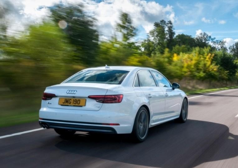 Audi A4 rear copy