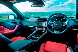 Jaguar F-Pace front interior copy