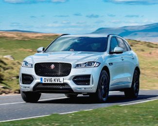 Jaguar F-Pace side front action copy