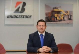 Stuart Jackson of Bridgestone UK. Picture by Sam Bagnall