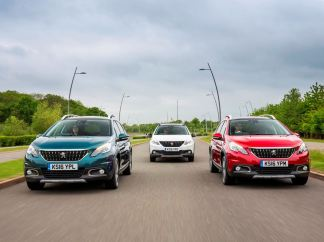Peugeot's new 2008 Compact SUV - GT Line with plenty of Allure besides copy