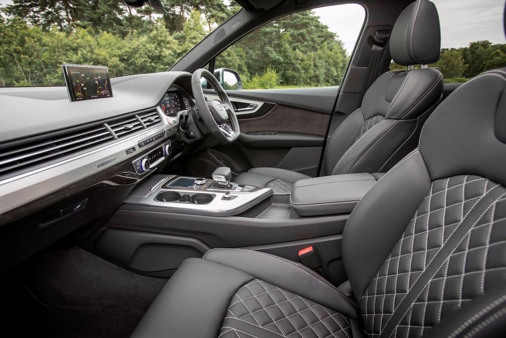 Audi SQ7 front seats copy
