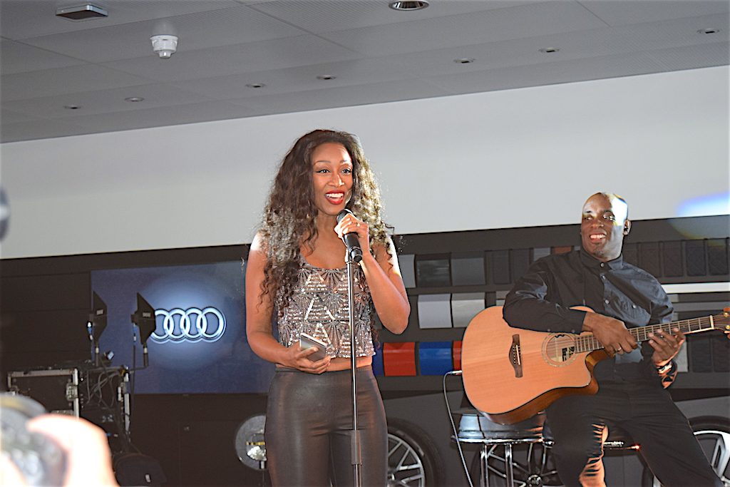 Beverley Knight wowed guests with a varied selection of her songs (including tracks from her latest album), performed live.
