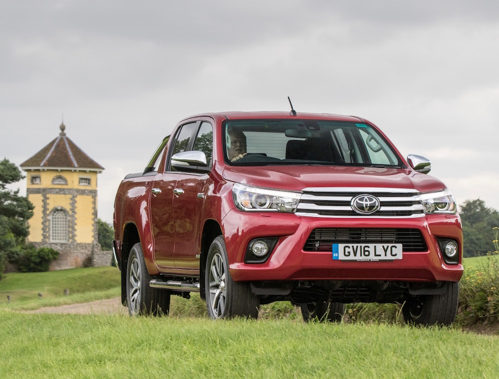 Toyota new Hilux Double Cab side front off road UK copy